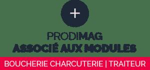 Prodimag associé aux modules boucherie charcuterie traiteur