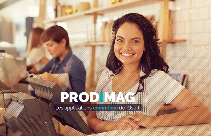Prodimag les applications commerce de IOsoft